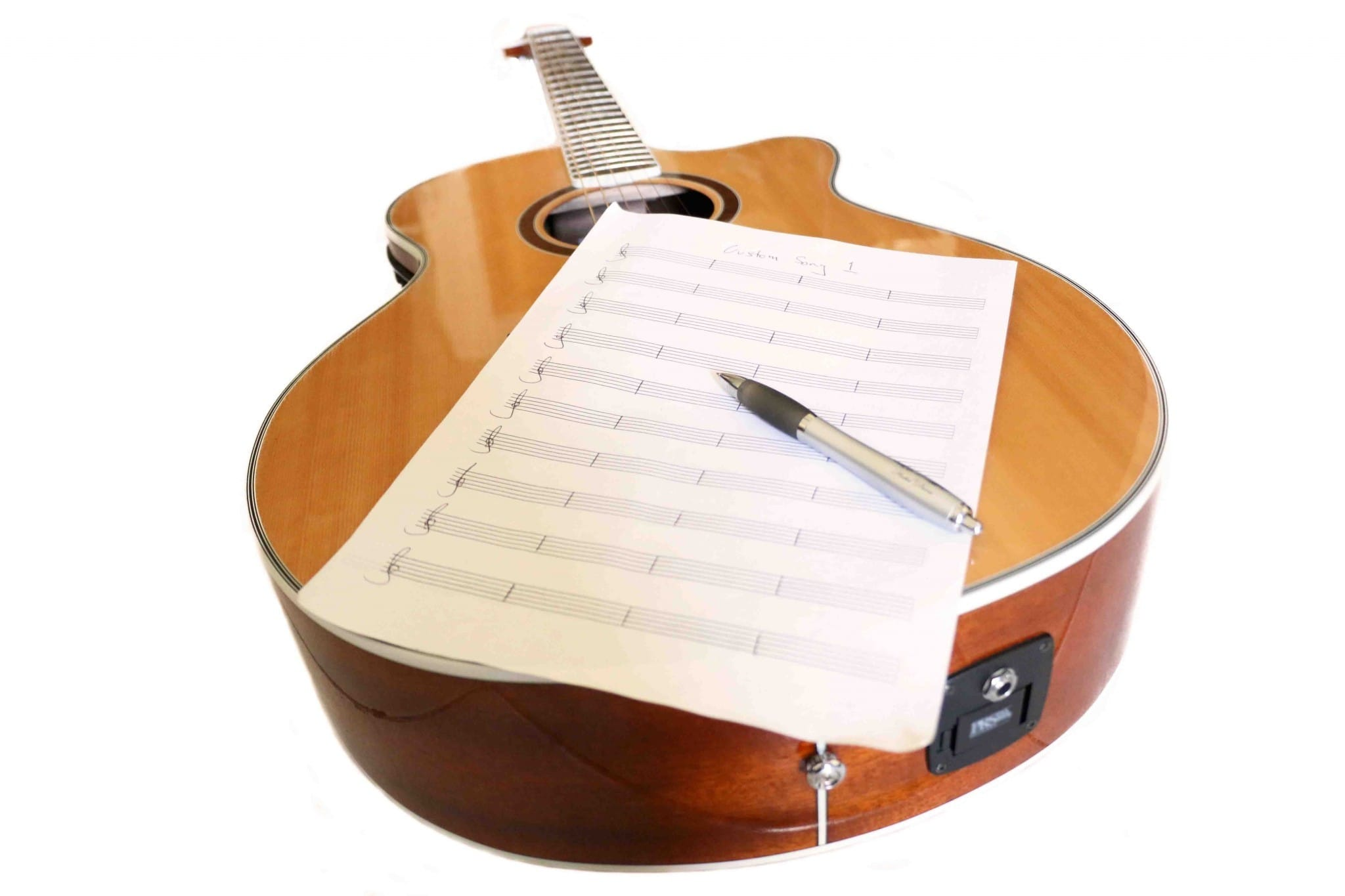 Write a custom song