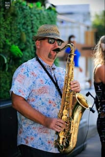 Saxophone-Clarinet-Player